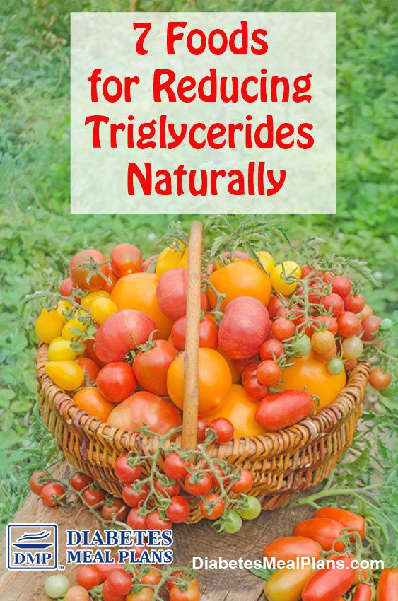 diet to reduce triglycerides and cholesterol