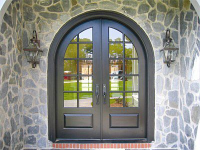 Country French Exterior Wood Entry Door Style DbyD-2047 | Floor ...
