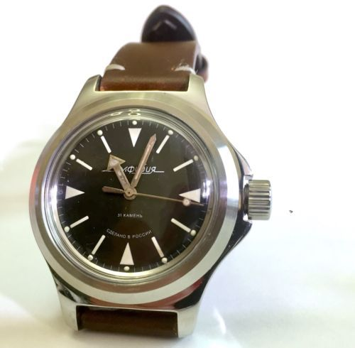 Russian Watch Vostok Amphibia Case 120 Murphy Bezel For Repair Apple Watch Case Watches Apple Watch