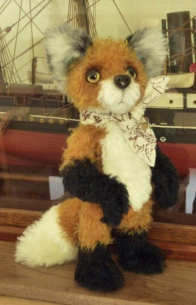 Milo by The Artful Fox now available for adoption on Bear Pile  by Paula Drage
