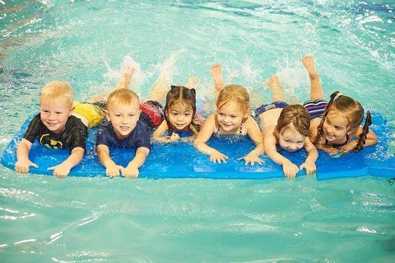 Swim Lessons In Richmond Tx Pengu Swim School Swim Lessons Kids Swimming Baby Swimming Classes