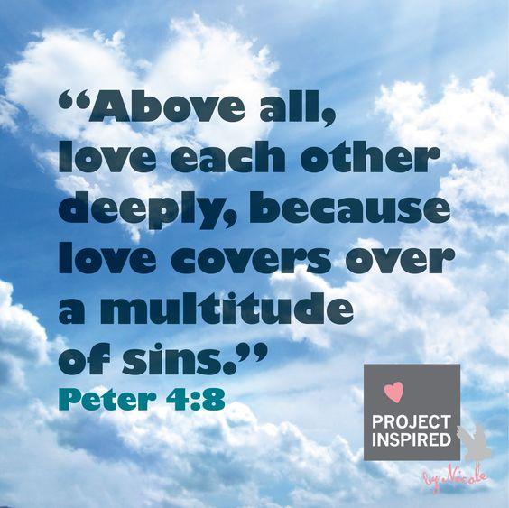 Love Each Other Deeply: Love Each Other, Bible Verses Quotes And God On Pinterest