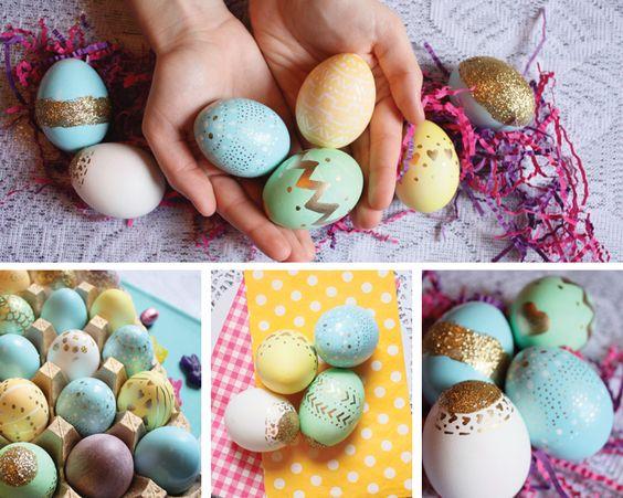 easter eggs, coachella style!