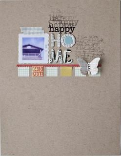 happy home by lifelovepaper at Studio Calico