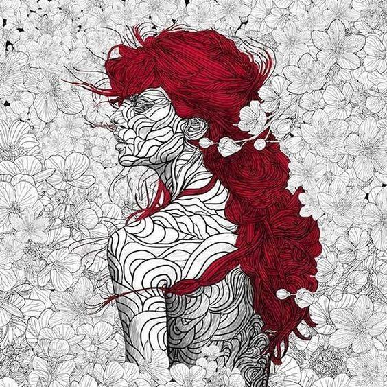 Entre las flores, de Pedro Tapa - Esto no es arte