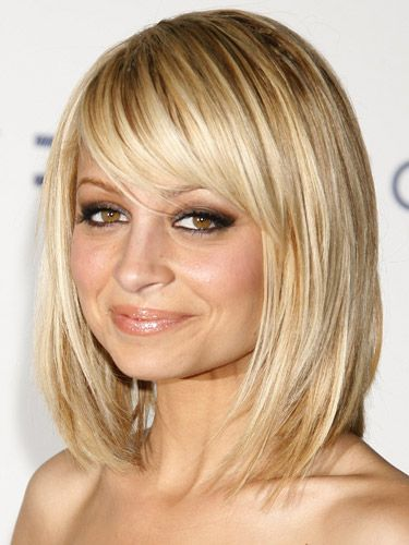 Surprising Bangs Nicole Richie And Celebrity Hairstyles On Pinterest Short Hairstyles For Black Women Fulllsitofus