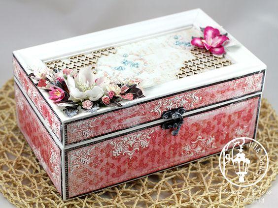 UHK Gallery - inspiracje: Prezent dla... Siostry - pudełko na drobiazgi: