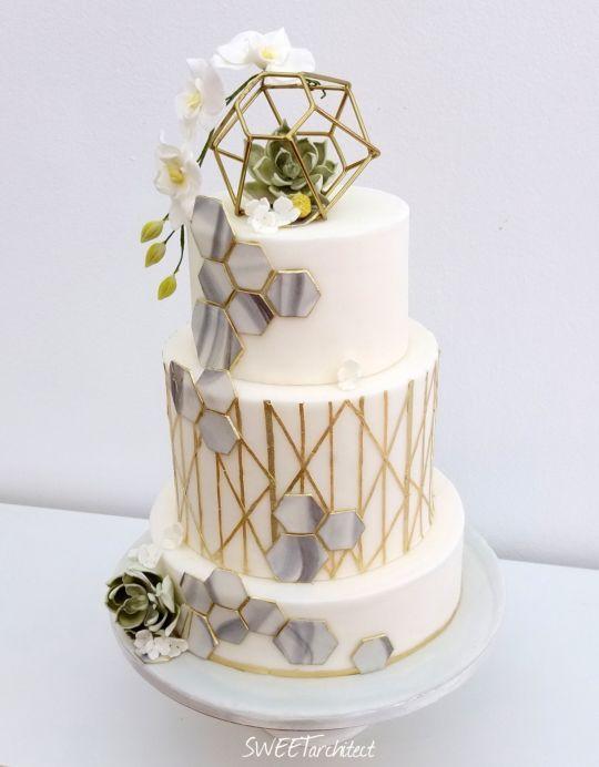 geometricka torta