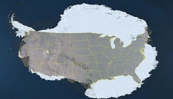 Antarctica: een tropisch paradijs dat bij onze voorouders bekend is en door de geschiedenis is 'vergeten' 32