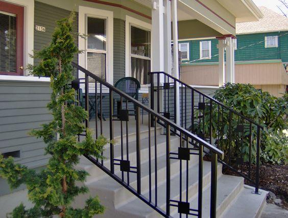 Craftsman Railing Fences Pinterest Craftsman