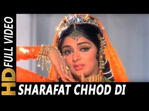 sharafat chod di maine mp3 song