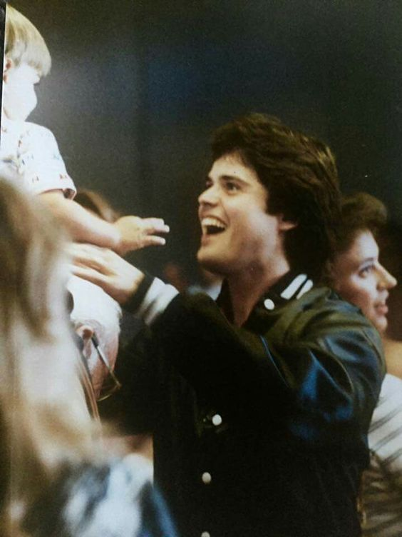 Donny greeting Don 1981