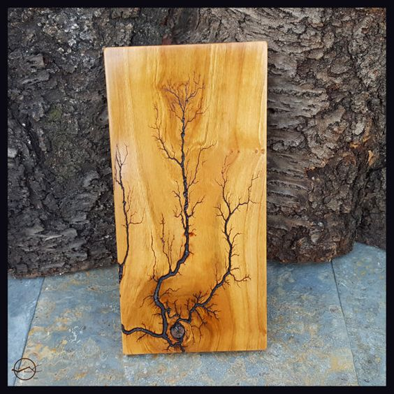 Lightning Art wood wall hanging  wood wall decor by CutBranchDecor . #cutbranch #wallhanging #walldecor #rusticdecor #fractals #electricity #elements #wallart #lightning #homestyling #homedecoration #homestyle #mancave #woodart #reclaimed #reclaimedwood