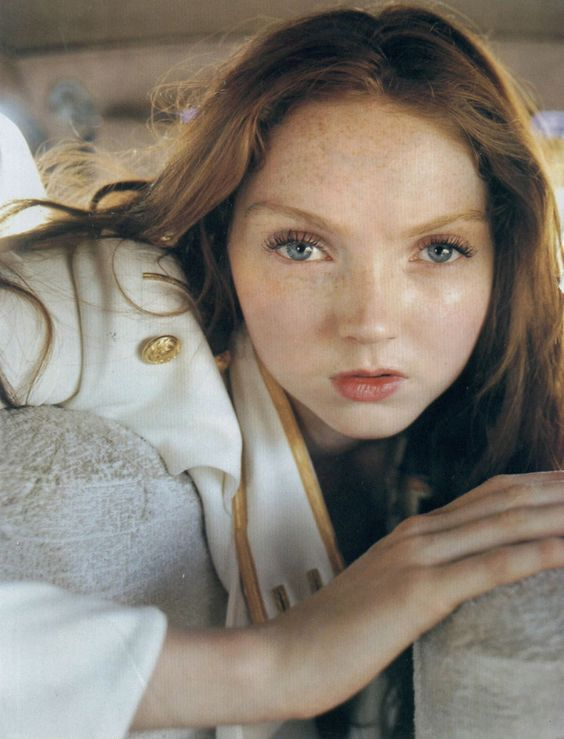 "Lily Cole by Tim Walker for Vogue UK, July 2005, unconventional beauty breaking through the ""rules"""