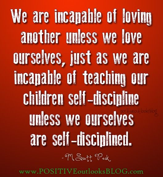 self-love and self-discipline