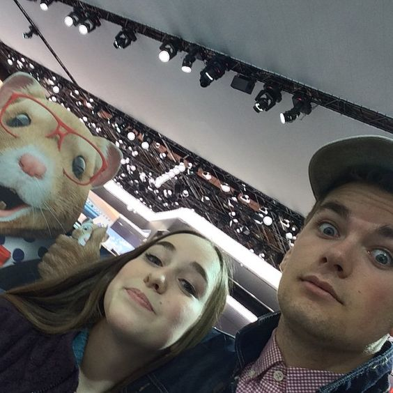 """""""Had a blast at the the auto show with the one and only @izzyyyyy4 and of course the #KIASoulHampsters #NAIAS"""" Photo taken by @coolbadaxe on Instagram, pinned via the InstaPin iOS App! http://www.instapinapp.com (01/22/2015)"""