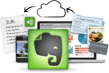 Evernote, is great for note taking on the go  www.realestatefountainhills.com
