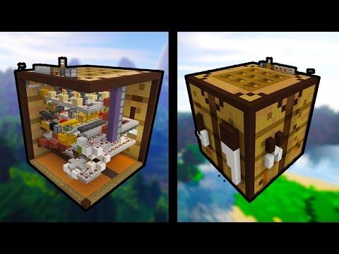 Minecraft Tutorial How To Make A Chest House Storage House Youtube Minecraft Designs Minecraft Crafting Recipes Craft Table