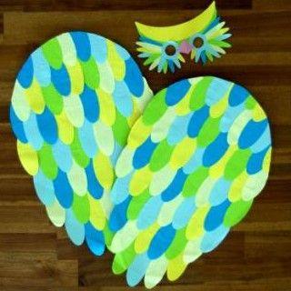 Créez un déguisement de chouette très facilement pour le plus grand bonheur de votre enfant ! Découvrez tous les autres ateliers C-MonEtiquette.