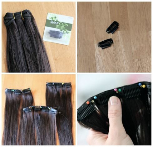 How to sew your own weave clips in extensions crafty how to sew your own weave clips in extensions crafty pinterest extensions clip in extensions and how to sew pmusecretfo Choice Image