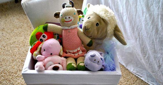 Những ý tưởng lưu trữ đồ chơi kỳ diệu giúp phòng bé luôn gọn gàng