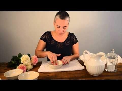 Spa em casa - Limpeza de pele natural e caseira - YouTube