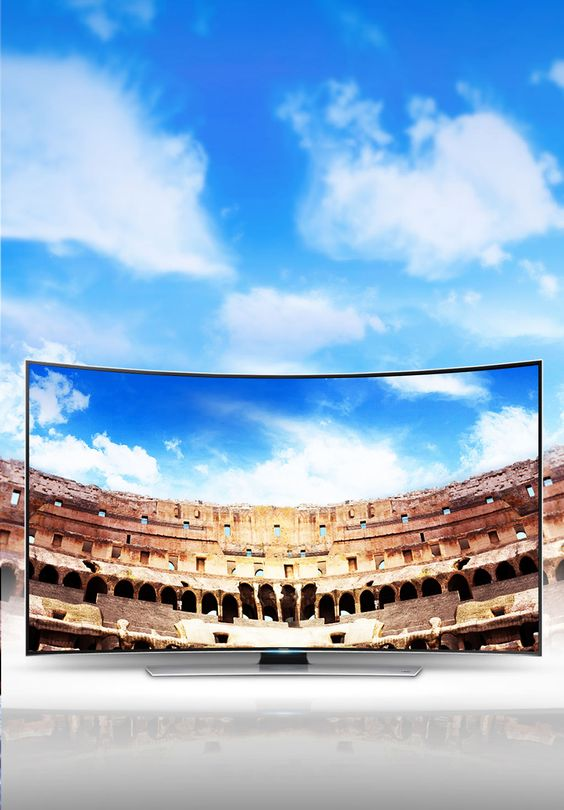 Samsung Smart TV Curved UHD http://www.deltateccshop.de/Markenwelt/Samsung/