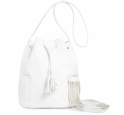 "NIKKI REED x FREEDOM OF ANIMALS ""NIKKI"" BUCKET BAG:"