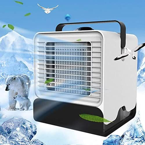 Buy Fanxis Portable Air Conditioner Cooler Summer Cooling Fan Night Light Personal Fans Online Thetrendyclothes In 2020 Portable Air Conditioner Air Cooler Fan Personal Fans