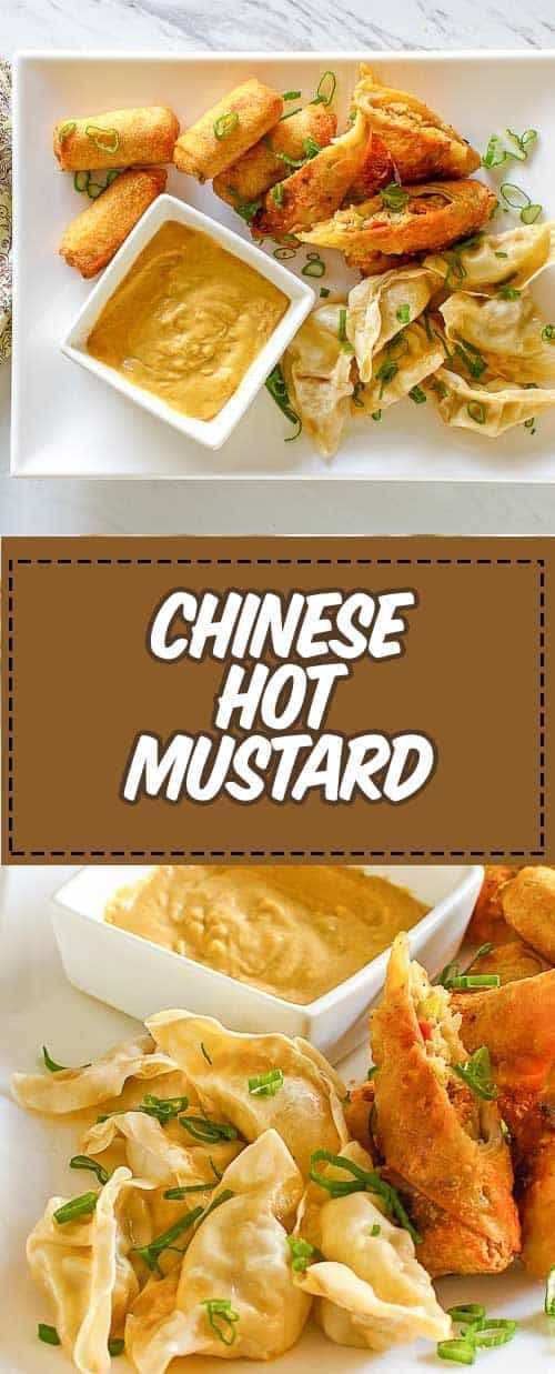 Make Chinese Hot Mustard at Home