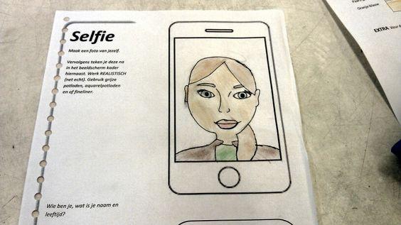 De selfie opdracht