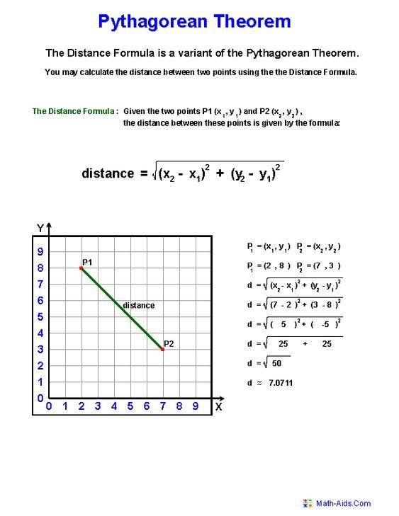 Pythagorean Theorem Problems Worksheets Projects to Try - pythagorean theorem worksheet