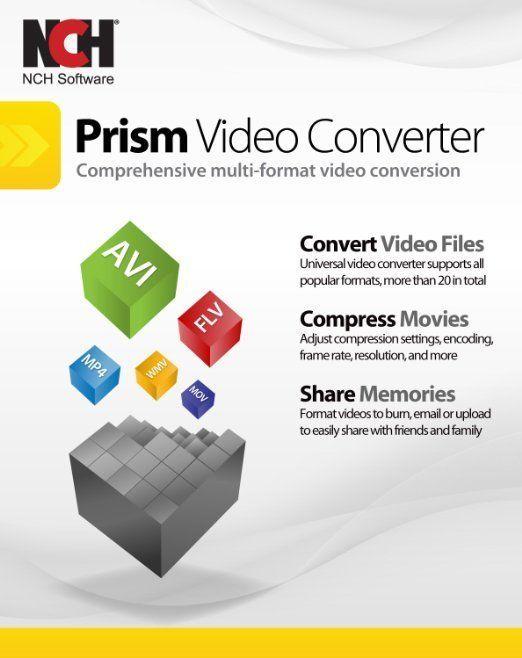 Prism Plus Video Converter Convert Avi Mpg4 For Windows Video Converter Converter Video Editing Software