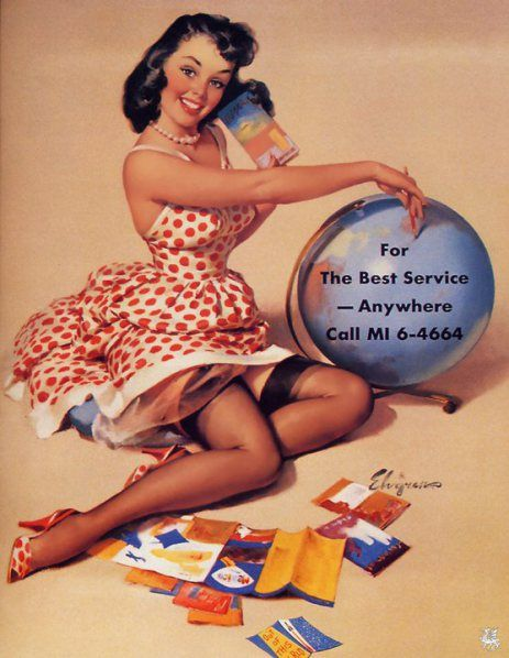 Vintage Pin-Up Posters of Gil Elvgren Gallery 9 |