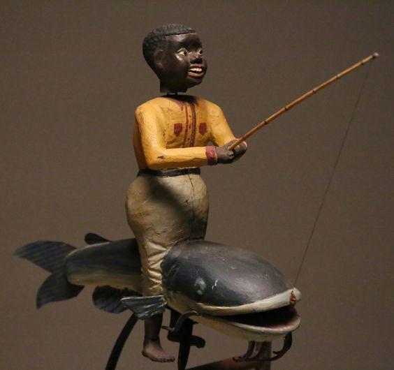 Folk Art Balance Toy - Rafael Osona Auctions Nantucket, MA