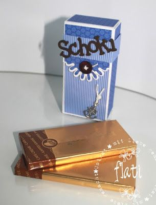 ♥ Flati s  Stempelwelt ♥: Schoki Verpackung