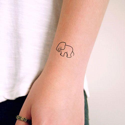 Small Elephant Tattoo Best Elephant Tattoos Elephant Tattoo Small Elephant Tattoos Simple Elephant Tattoo