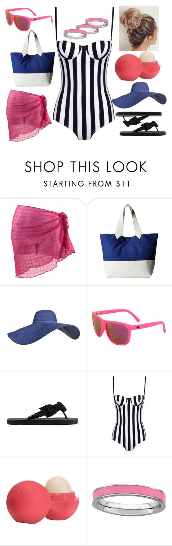 """""""SWIM"""" by hayliemcullough ❤ liked on Polyvore featuring Echo Design, RED Valentino, Dolce&Gabbana and Eos"""