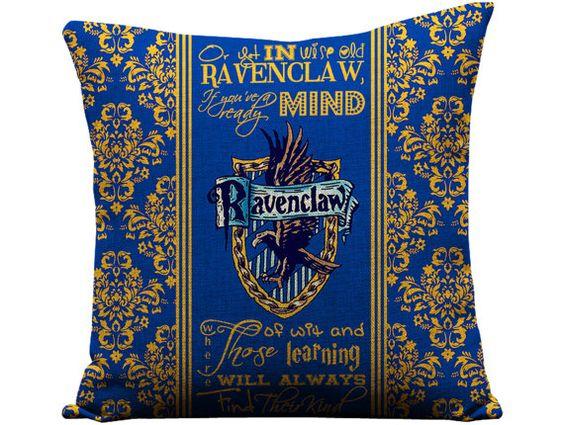 serdaigle poudlard harry potter oreillers rowling potter serdaigle gallery 1 geekandthechic fr listing ravenclaw hogwarts