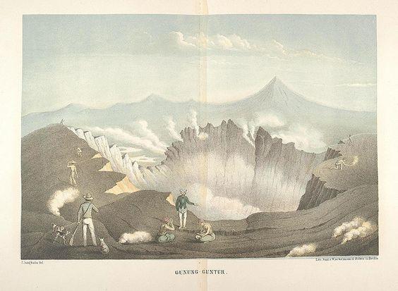 Java seine Gestalt, Pflanzendecke und innere Bauart 1857 (Junghuhn) f by peacay, via Flickr