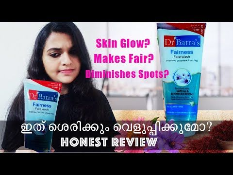Dr Batra S Fairness Face Wash Review Malayalam Demo Devi Nidheesh Youtube In 2020 Face Wash Face Wash