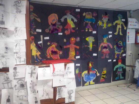 coloreando las emociones, niños de preescolar