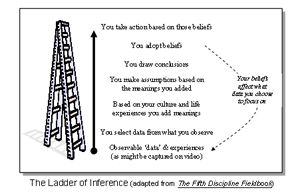 The Ladder of Inference: Why we jump to conclusions (and how to avoid it)
