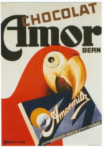 A parrot AND chocolate? How much better can it get?!?