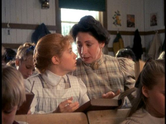 Anne of Green Gables- getting in trouble for reading books, instead of doing arithmetic: