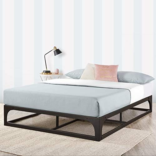 Mellow King 12 Metal Platform Bed Frame W Heavy Duty Steel Slat