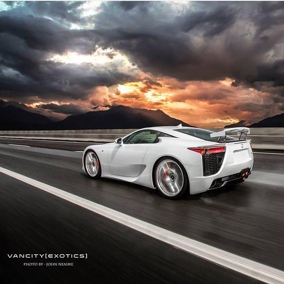 LFA | Via @vancityexotics | Partners: - @la_exotics - @aventador107 - @kusanagi_aoi - @fastdriven #fastercars_