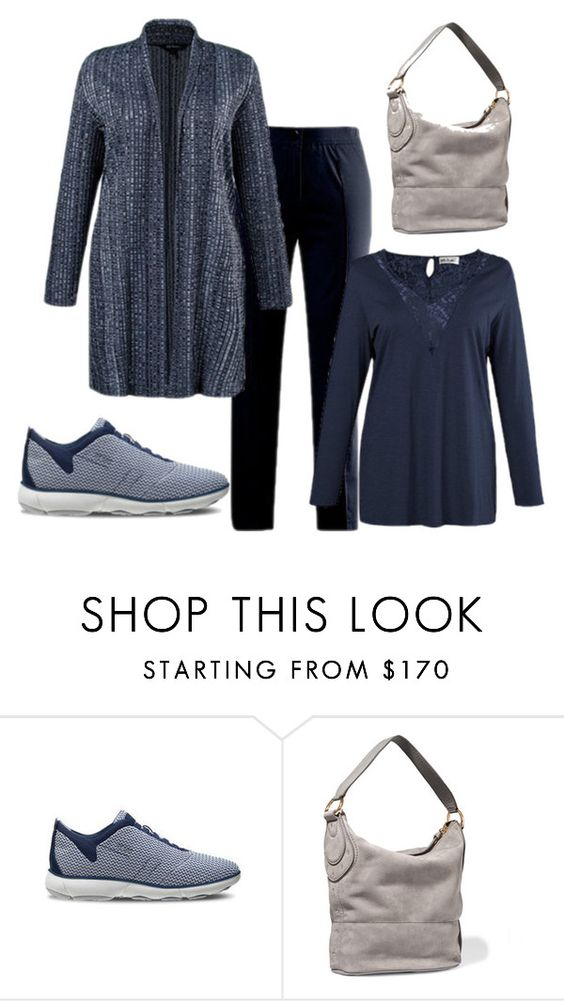 """""""in love with blue"""" by vivaleria on Polyvore featuring moda e Geox"""