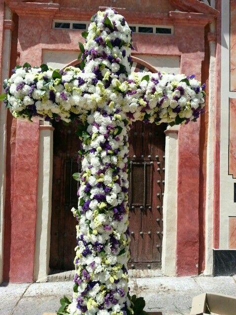 Cruz Plaza de Abades 2015 #RamónLuque #MayoCordobés