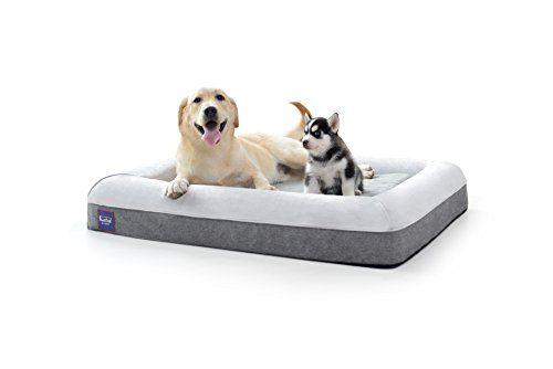 Laifug Orthopedic Memory Foam Large Dog Bed Pillows 43 X3 Https Www Amazon Com Dp B07596s5gb Ref Cm Sw R Pi Dp U Dog Pet Beds Dog Bed Large Cool Dog Beds
